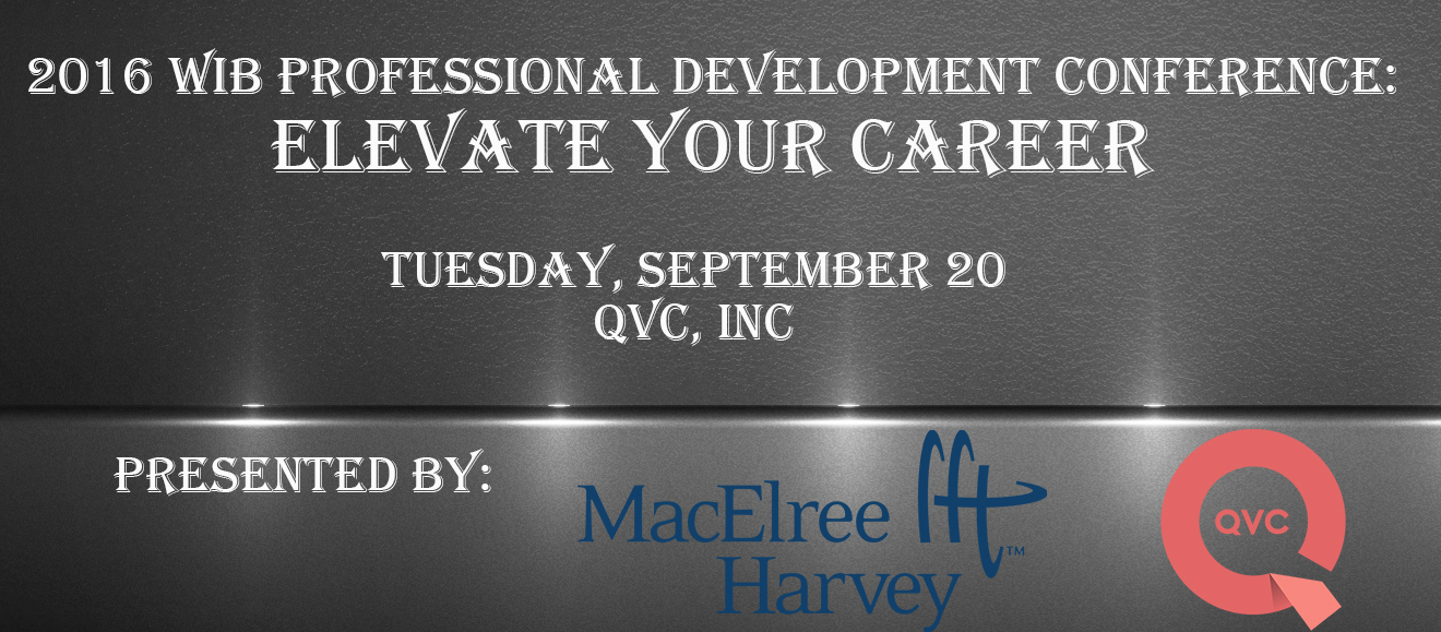 2016 WIB Professional Development Conference: Elevate Your Career